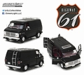 Chevrolet Van G -series Zwart  Black 1/18