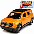 Jeep Renegade Oranje Orange  1/43
