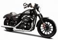 Harley Davidson Sportster Iron 883 Zwart Black 2014 1/18