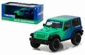 Jeep Wrangler Rubicon 2014 Falken tire Groen Blauw -  Gr Bl 1/43