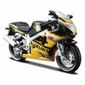 Suzuki GSX R600 Zwart geel  Black Yellow 1/18