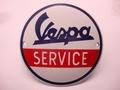 Vespa Service Ø 10 cm Emaille