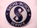 Sachs-Motor Service Ø 10 cm Emaille