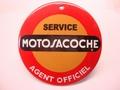 Motosacoche Service Agent Officiel Ø 10 cm Emaille
