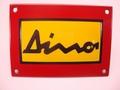 Dino Ferrari 10 x 14 cm Emaille