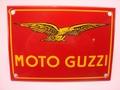 Moto Guzzi 10 x 14 cm Emaille