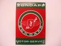 Zundapp Motor Service 10 x 14 cm Emaille