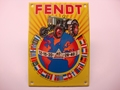 Fendt 10 x 14 cm Emaille