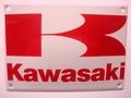 Kawasaki 10x 14 cm Emaille