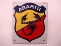 Abarth 10 x 12 cm Emaille