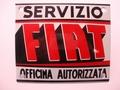 Fiat Servizio 10 x 12 cm Emaille