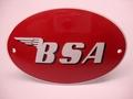 BSA Ovaal 8 x 12 cm Emaille