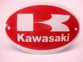 Kawasaki Ovaal 8 x 12 cm Emaille