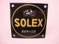 Solex Service 10 x 10 cm Emaille