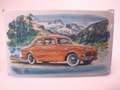 Volvo Amazon 21 x 34 cm Emaille bord