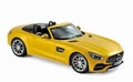 Mercedes AMG GT C Roadster Cabrio 2017    Geel - Yellow 1/18