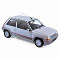 Renault Super Cinq GT Turbo Zilver Silver 1985 1/18