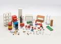 Garage kit set Garage inrichting en gereedschappen 1/18