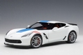 Chevrolet Corvette Grand sport 2017  Artic White 1/18