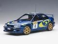 Subaru Impreza WRC 1997 # 4  Monte Carlo Winner 1/18