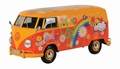 VW Volkswagen Type 2 ( T1) Delivery van Flower Power 1/24