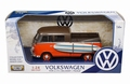 VW Volkswagen Type 2 ( T1 ) Pick up with surf board 1/24