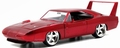 Dom's Dodge charger Daytona Rood Red 1/24