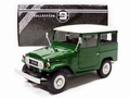 Toyota Land cruiser FJ40 Groen met wit dak Green/white roof 1/18