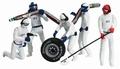 Carrera Mechaniekers - Pit Crew  Wit - White 1/32