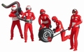 Carrera Mechaniekers - Pit Crew  Rood - Red 1/32