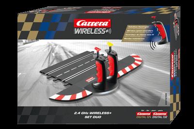 Carrera Wireless set + 2 regelaars 2,4 Ghz 1/32