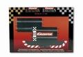 Carrera Aansluit stuk + recht baanstuk  - conecting section 1/32