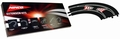 Ninco Bocht met dubbele wissel - Curve Double lane changer 1/32