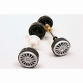 Carrera voor en achter as - front and rear axle 1/32