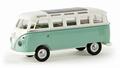 VW Volkswagen Bus Samba Licht Groen/wit - Light Green/ white 1/87