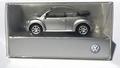 VW Volkswagen new Beetle Cabrio zilver - Silver  1/87