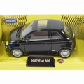 Fiat 500 Zwart  - Black 2007  Pull back -  opening doors