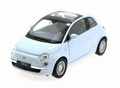 Fiat 500 Wit - White 2007  Pull back -  opening doors