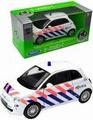 Fiat 500 Politie 2007  Pull back -  opening doors