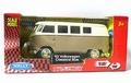 VW Volkswagen Bus 1962 Classic Beige - Bruin Pull back