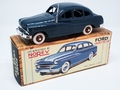Ford Vedette 1954 Blauw -  Blue Fac simple 1/43