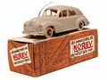 Peugeot 203 Berline licht grijs - light grey  Fac simple  1/43