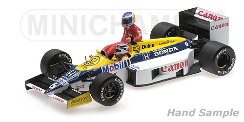 Williams Honda FW11 N,Piquet - German GP 1986 1/18