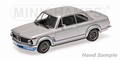 BMW 2002 Turbo 1973 Zilver - Silver  1/18