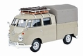 VW Bus Volkswagen Type 2 ( T1 ) Pick up Grijs Grey 1/24