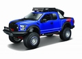 Ford F - 150 Raptor  2017 Blauw Blue  1/24