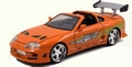 Brain's Toyota Supra Oranje Orange Fast & Furious 1/24