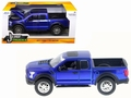 Ford F 150 Raptor 2017 Blauw Blue 1/24