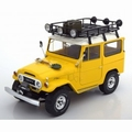 Toyota Land Cruiser FJ40 Geel Yellow 1967 1/18
