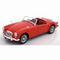 MGA MKI A 1500 Open Cabrio 1957 Rood Red 1/18